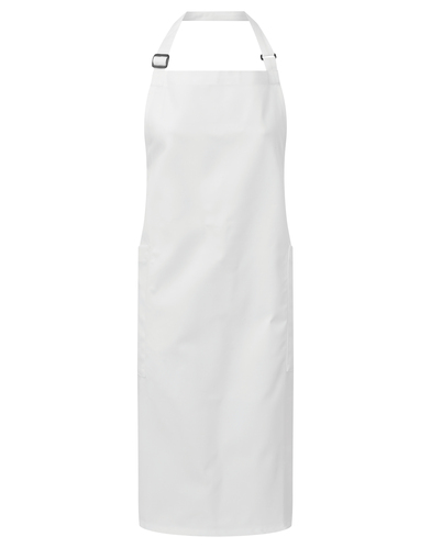 Premier - Recycled Polyester And Cotton Bib Apron, Organic And Fairtrade Certified