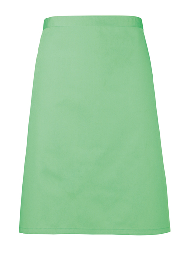 Colours Mid-length Apron In Apple