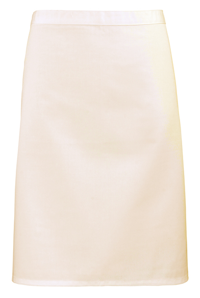 Colours Mid-length Apron In Natural