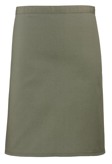 Colours Mid-length Apron In Sage