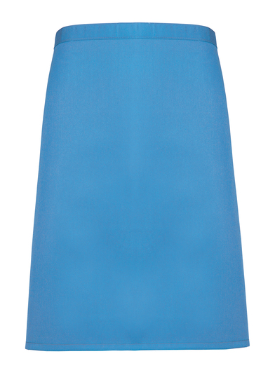 Colours Mid-length Apron In Sapphire