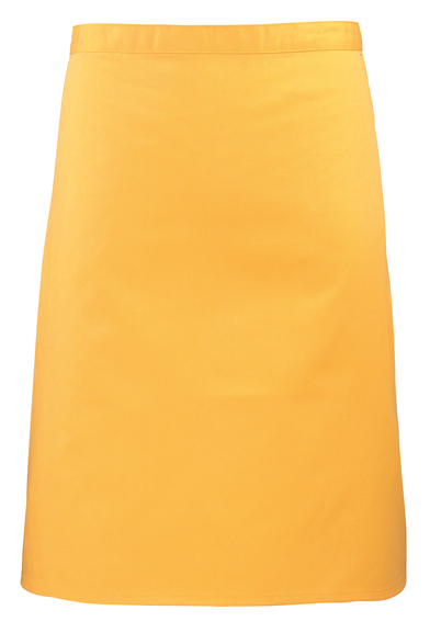 Colours Mid-length Apron In Sunflower