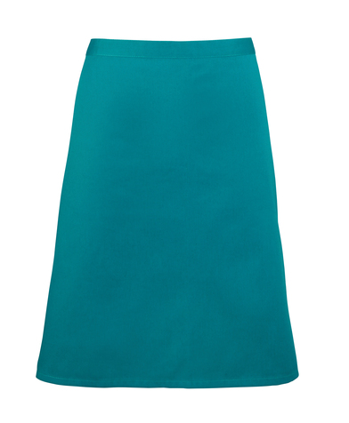 Colours Mid-length Apron In Teal
