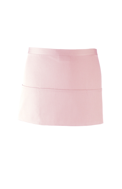 Colours 3-pocket Apron In Pink