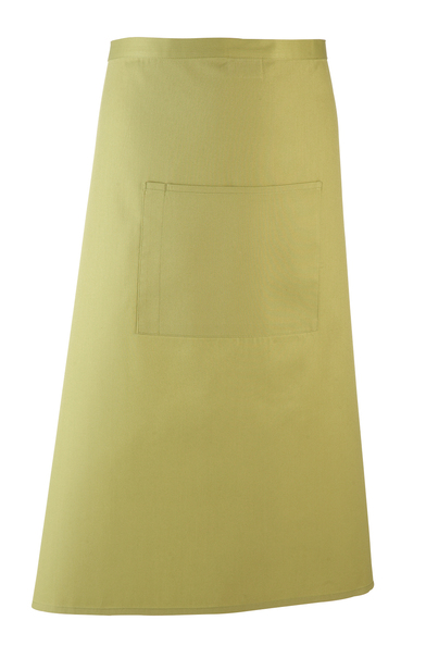 Colours Bar Apron In Lime