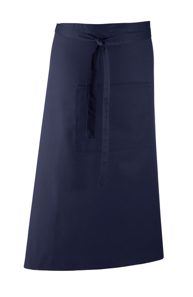 Colours Bar Apron In Navy