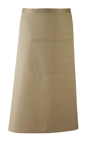 Colours Bar Apron In Olive