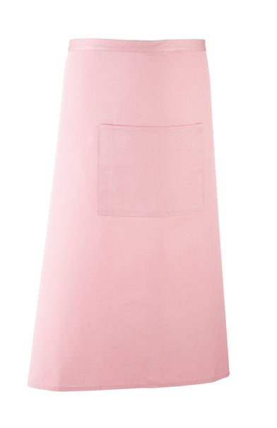 Colours Bar Apron In Pink