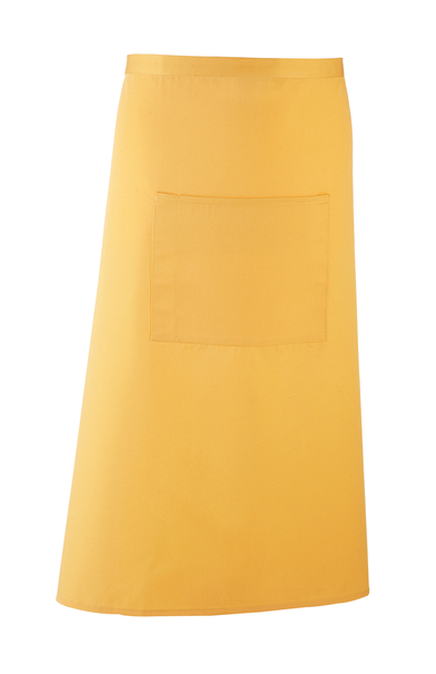 Colours Bar Apron In Sunflower