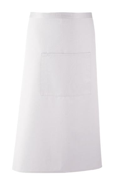 Colours Bar Apron In White