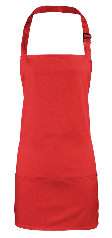 Colours 2-in-1 Apron In Red