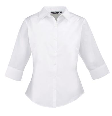 Premier - Women's  Sleeve Poplin Blouse