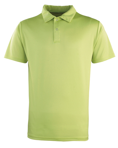 Coolchecker Studded Polo In Lime