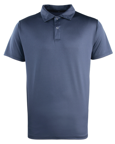 Coolchecker Studded Polo In Navy