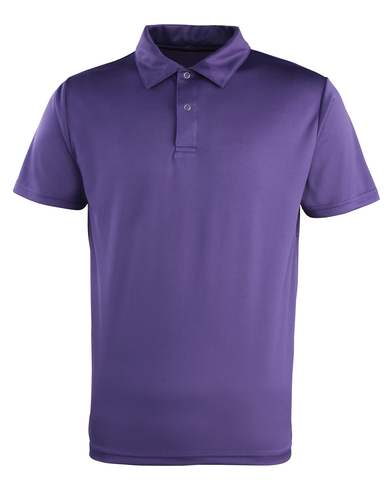 Coolchecker Studded Polo In Purple