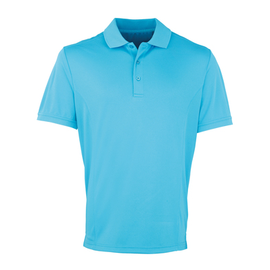 Coolchecker PiquŽ Polo In Turquoise