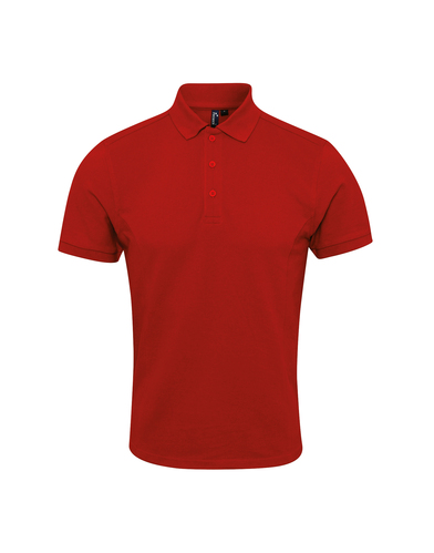 Coolchecker Plus Piqu Polo With CoolPlus In Red