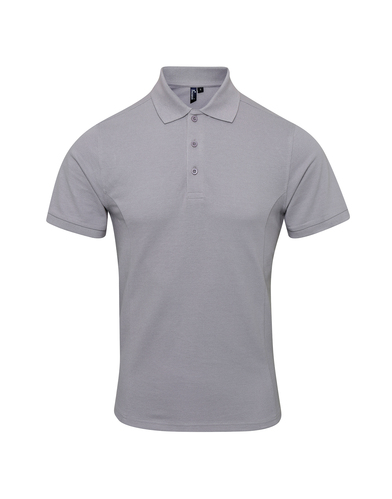 Coolchecker Plus Piqu Polo With CoolPlus In Silver
