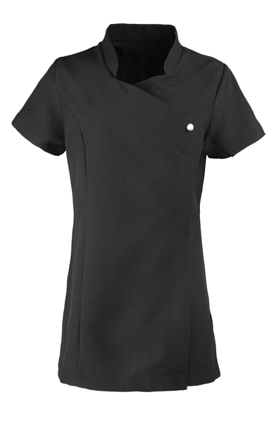 Blossom Beauty And Spa Tunic In Black