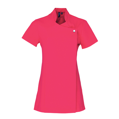 Blossom Beauty And Spa Tunic In Hot Pink