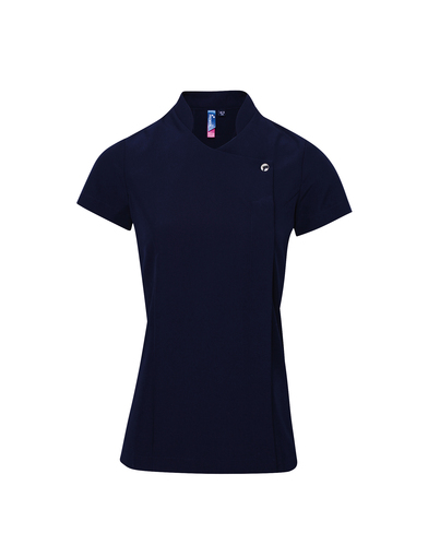 Blossom Beauty And Spa Tunic In Navy