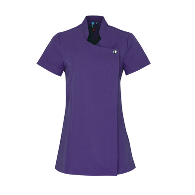 Blossom Beauty And Spa Tunic In Purple