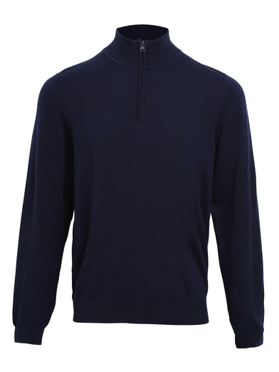 Premier - _ Zip Knitted Sweater