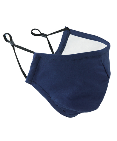3-layer Fabric Mask (AFNOR Certified) In Navy