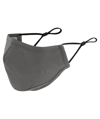 3-layer Face Mask, Powered By HeiQ Viroblock In Dark Grey