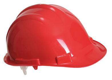Endurance Safety Helmet (PW50) In Red