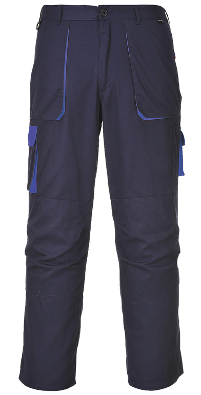 Contrast Trousers (TX11) In Navy/Royal