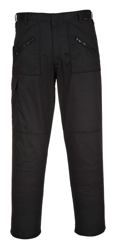 Action Trousers (S887) In Black