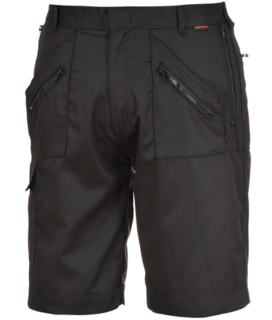 Action Shorts (S889) In Black
