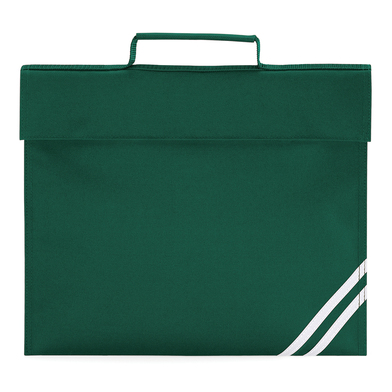 Classic Book Bag In Bottle Green