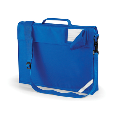 Junior Book Bag With Strap In Bright Royal
