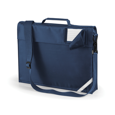 Junior Book Bag With Strap In French Navy