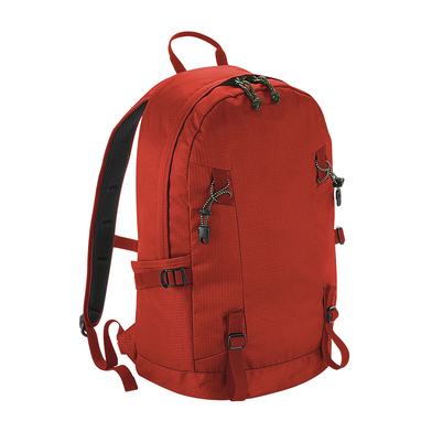 Everyday Outdoor 20 Litre Backpack In Burnt Red
