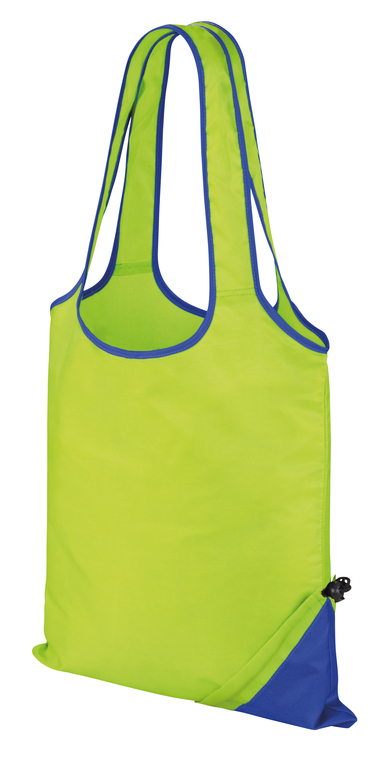 HDi Compact Shopper In Lime/Royal