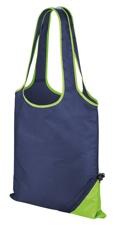 HDi Compact Shopper In Navy/Lime