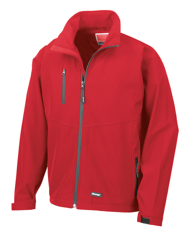 Baselayer Softshell Jacket In Red
