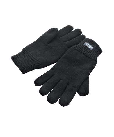Classic Fully-lined Thinsulate Gloves In Black