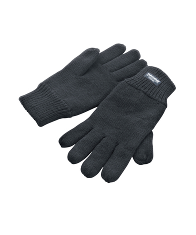 Classic Fully-lined Thinsulate Gloves In Charcoal