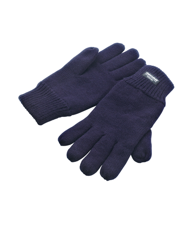 Classic Fully-lined Thinsulate Gloves In Navy