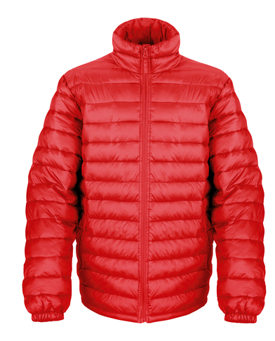 Ice Bird Padded Jacket In Red