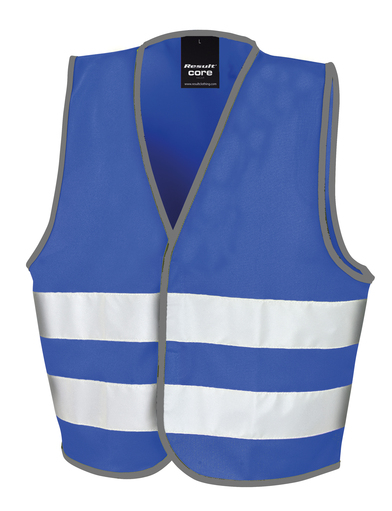 Core Junior Safety Vest In Royal