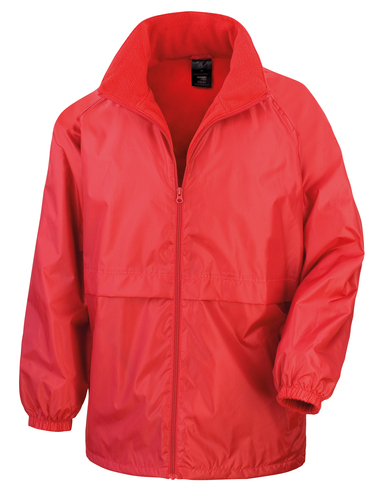 Core Microfleece Lined Jacket In Red