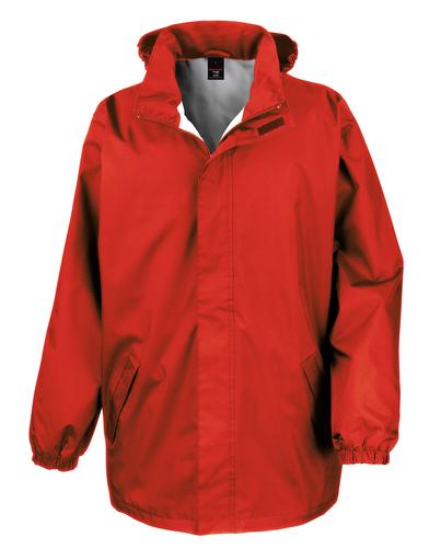 Core Midweight Jacket In Red