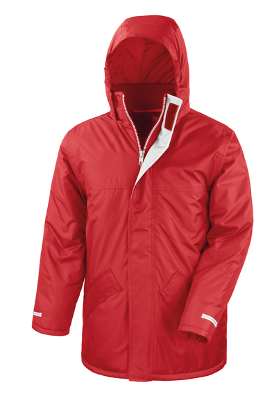 Core Winter Parka In Red
