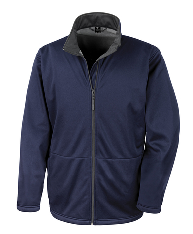 Core Softshell Jacket In Navy