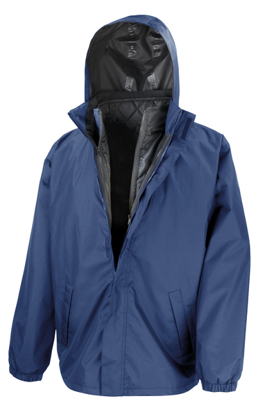 Result Core - Core 3-in-1 Jacket With Quilted Bodywarmer